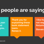 Bank Statement Loans