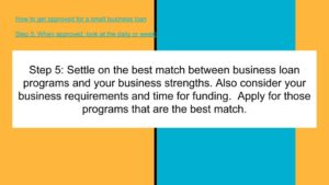 Apply for the best matching program.