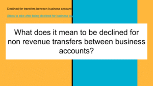 business account transfers
