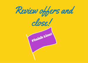Review your offers and close the approval