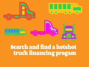 Search for and find hot shot loan programs