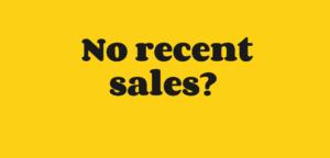 No recent business sales